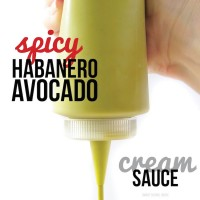 Spicy Habanero Avocado Sauce
