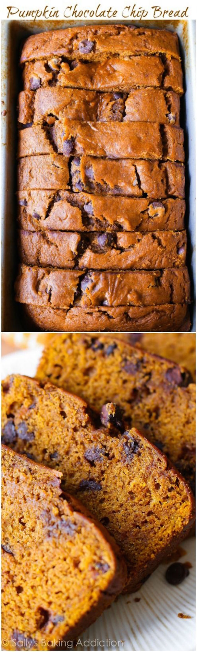 This recipe makes one heck of a super-moist pumpkin bread! This fall ...