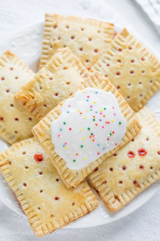 Homemade Poptarts Recipe: Store-bought poptarts are fantastic on-the-go treats that are great for busy morning breakfasts and after school snacks.