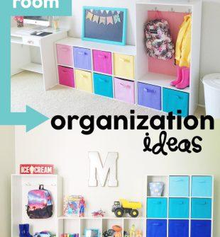 Kids Room Organization Ideas