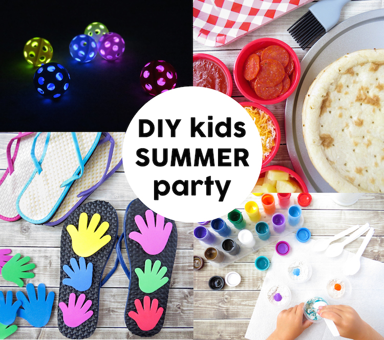 DIY Kids Summer Party
