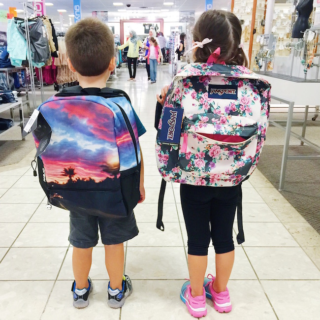 Cool backpacks for kids!