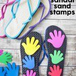 DIY Sandal Sand Stamps