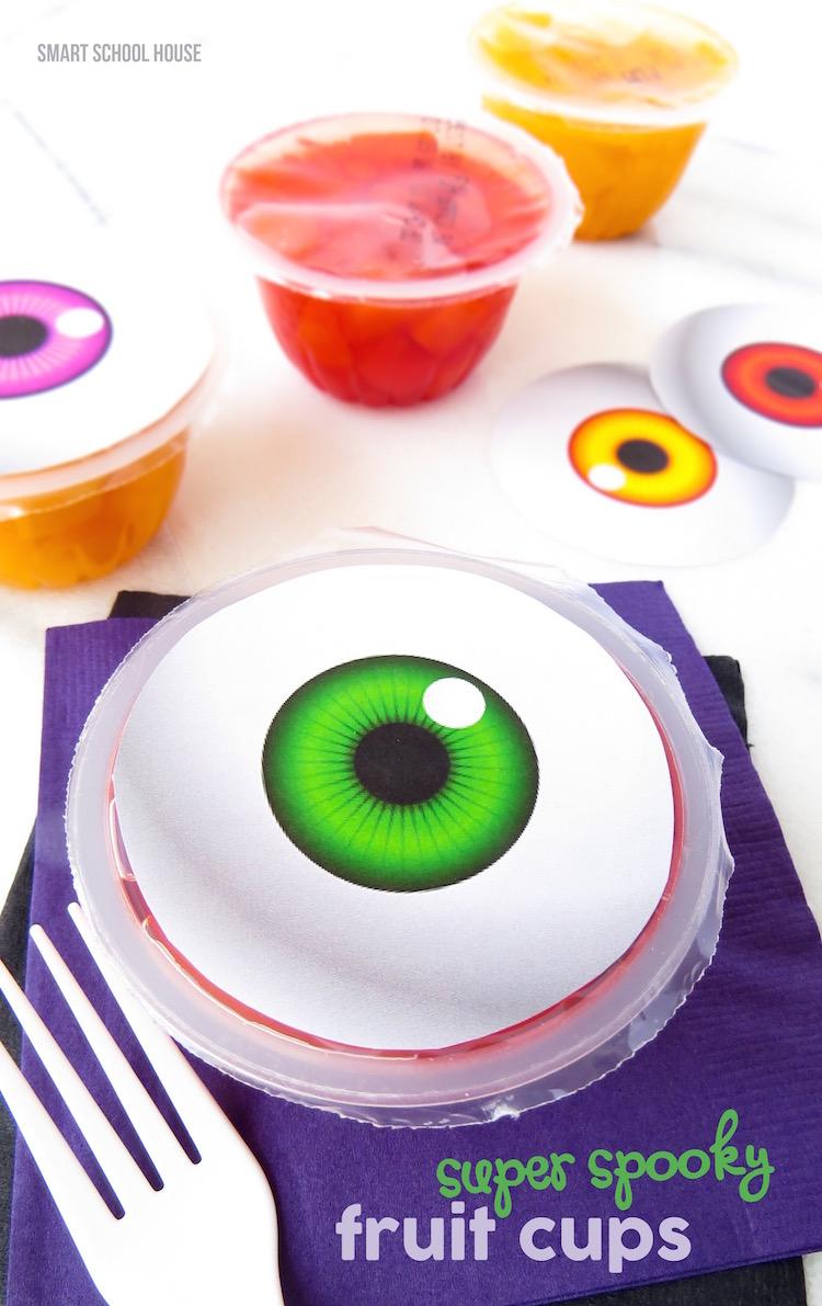 Super Spooky Eyeball Fruit Cups