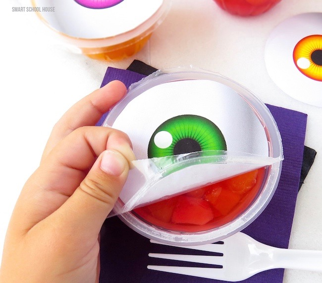 Super Spooky Eyeball Fruit Cups