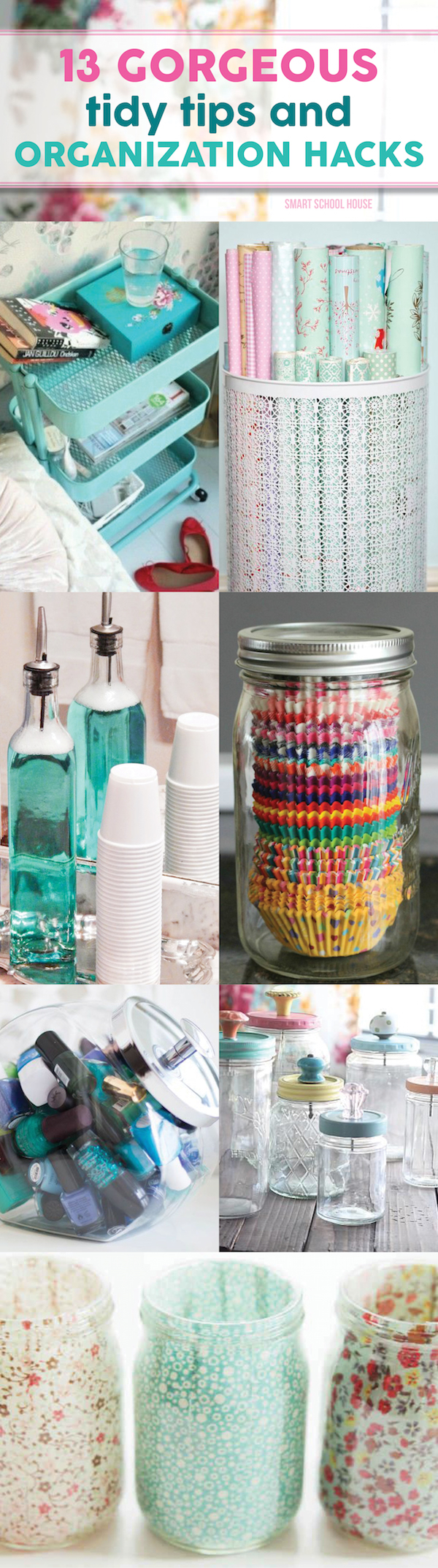 Tidy Tips and Organization Hacks