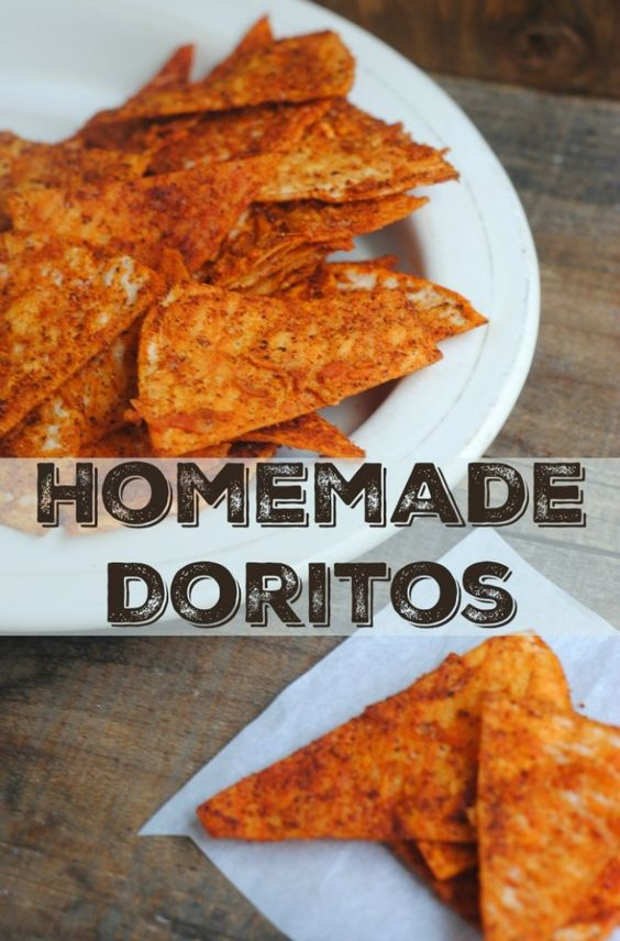 Homemade Doritos - Now with this recipe, you can make them anytime you want! Keep the ingredients on hand to satisfy your cravings and bring something new to your next party.