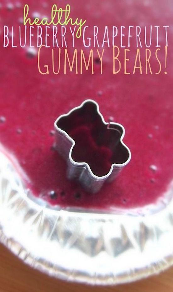 Os ursinhos de goma mais saudáveis (ou lanches de frutas) que você vai comer!