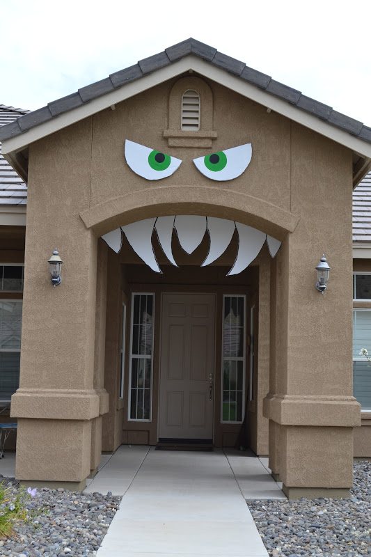 Turn your house into a monster!