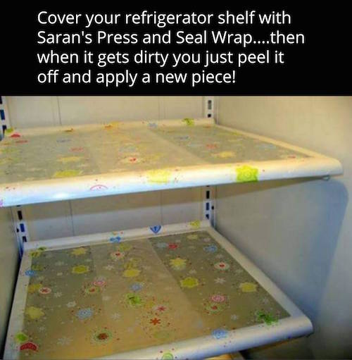 Have a stinky fridge? Give this a try! Clean your fridge faster.