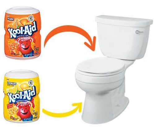 What? Banish toilet smells with Kool-Aid? YES!
