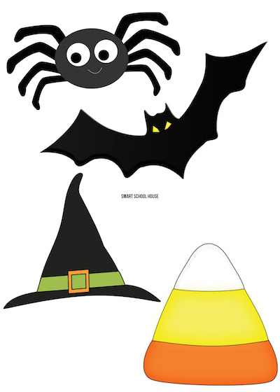 halloween window clings free printables - Halloween Window Clings