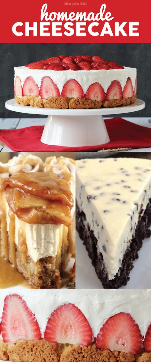 Easy Homemade Cheesecake Recipe Ideas