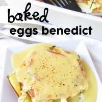 Baked Eggs Benedict