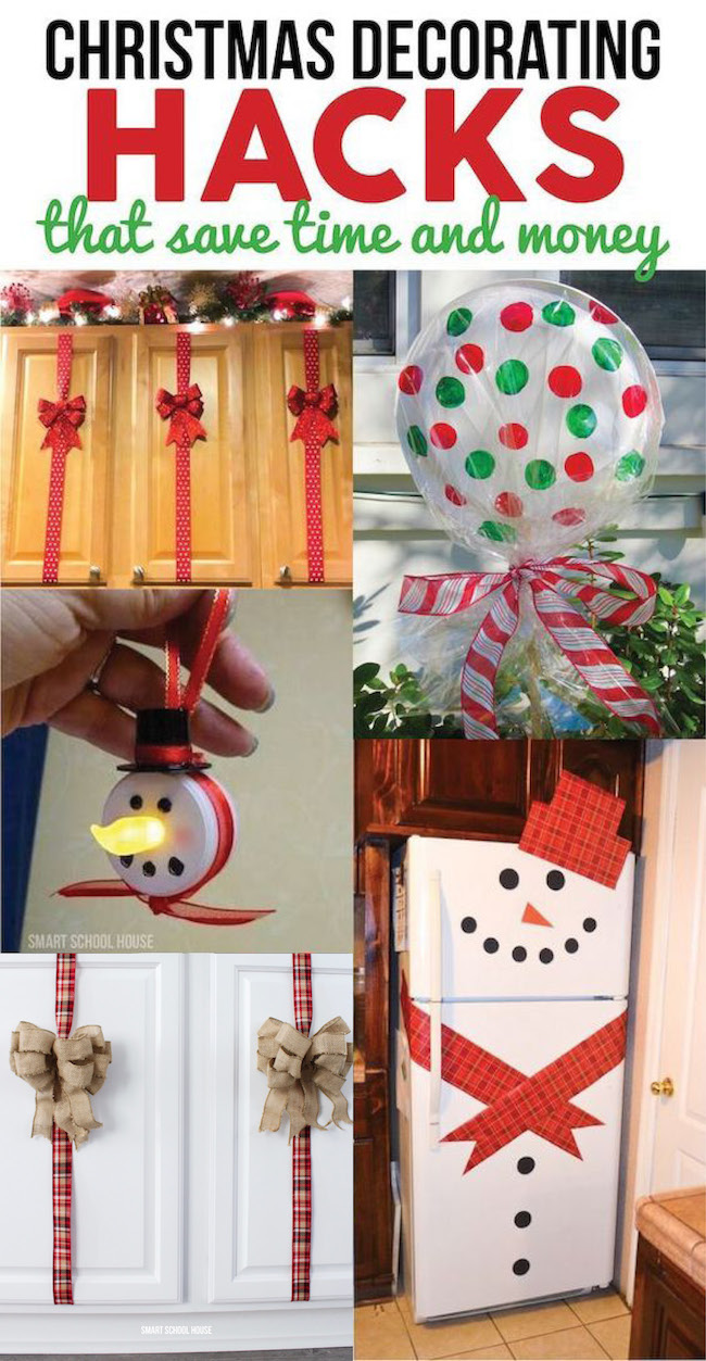 Christmas Decorating Hacks