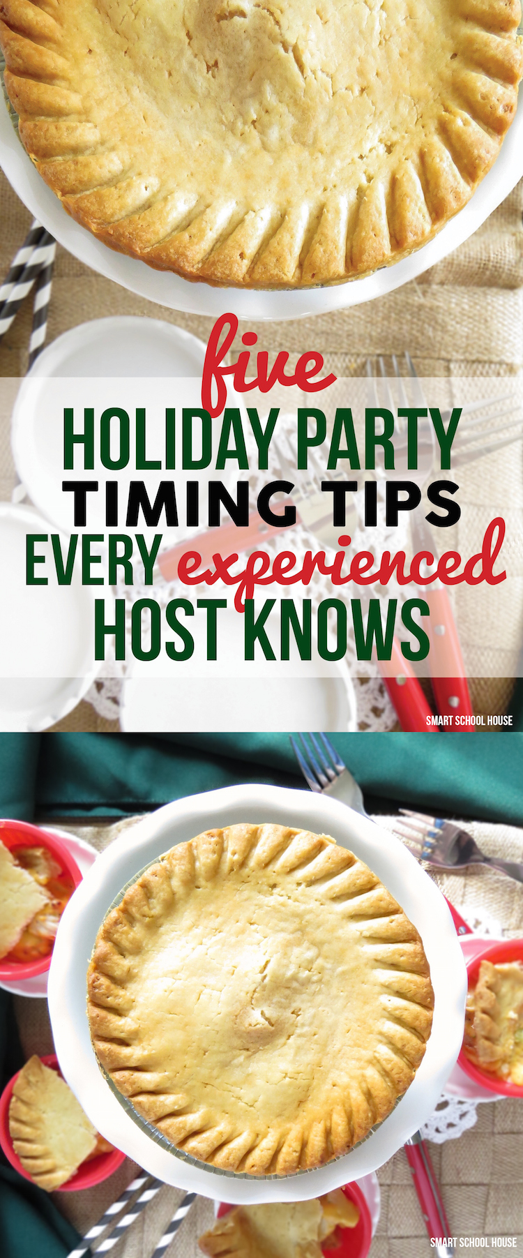 5 Holiday Party Timing Tips Every Experienced Host Knows. Great helpful ideas for hosting a party in your home this season!