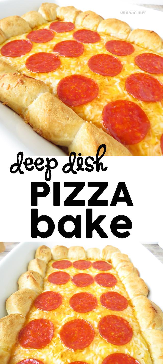 Deep Dish Pizza Bake recipe