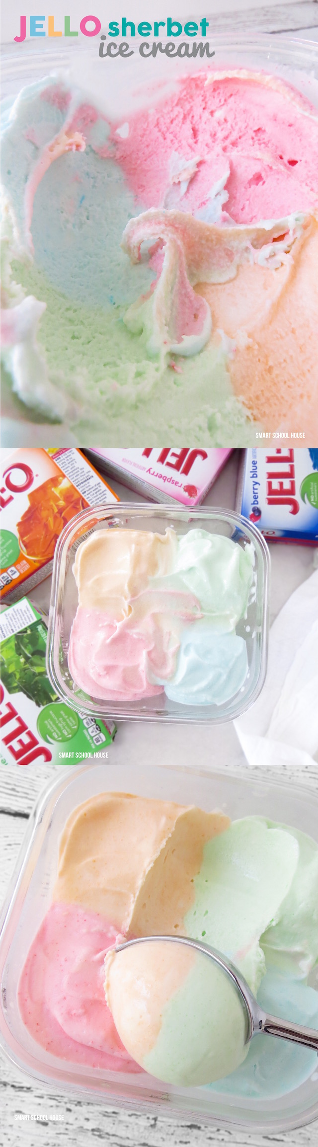What is sherbet ice cream?