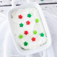 Santa's Peppermint Whipped Cream