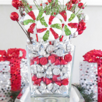 Hershey's Kisses Centerpiece