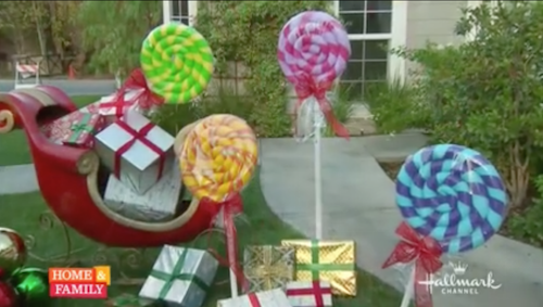How to make GIGANTIC lollipops out of pool noodles! This is amazing...