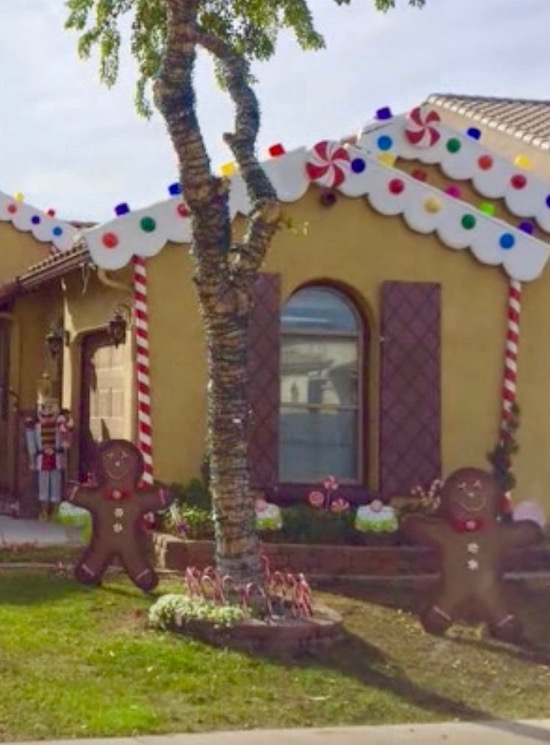 Turn your home into a life size gingerbread house with this tutorial!