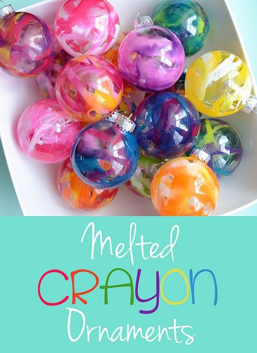 How to make Melted Crayon Ornaments