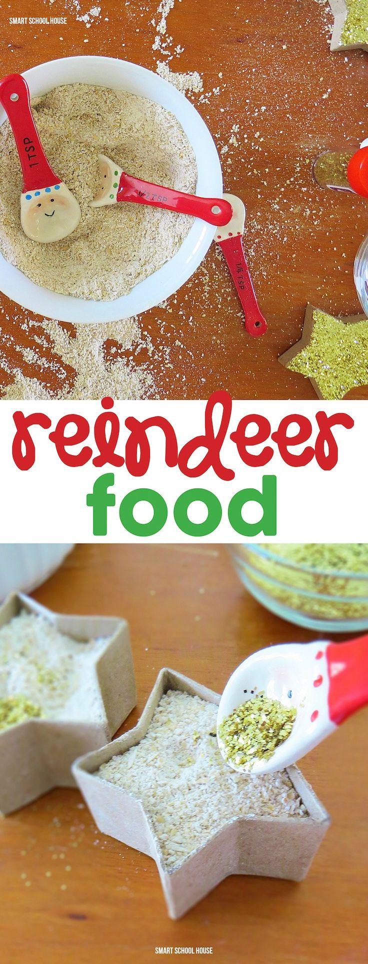 Reindeer Food recipe for kids