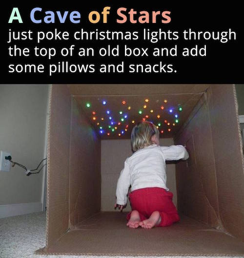 A Cave of Stars. I'm so doing this!