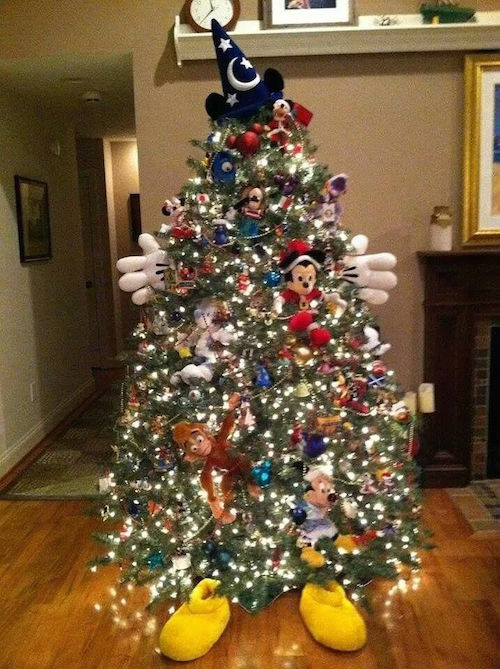 what a wonderful disney inspired mickey tree - Disney Christmas Decorations