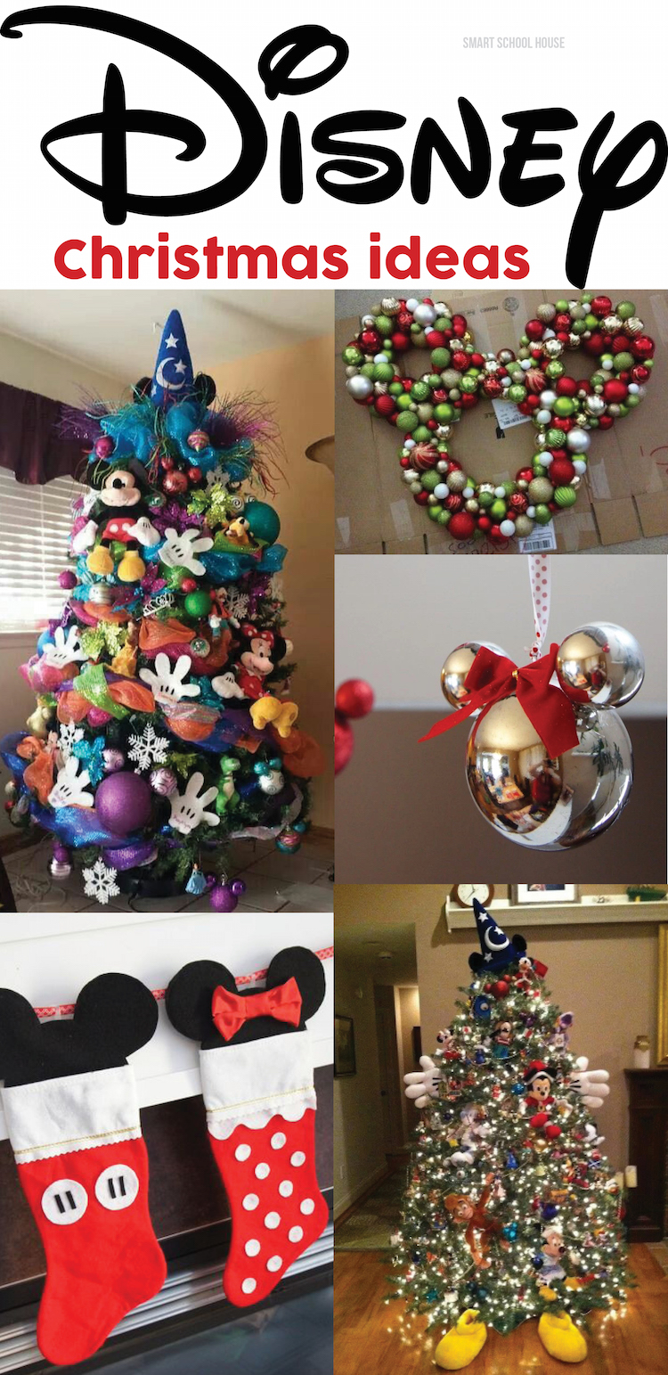 disney christmas ideas - Homemade Mickey Mouse Christmas Decorations
