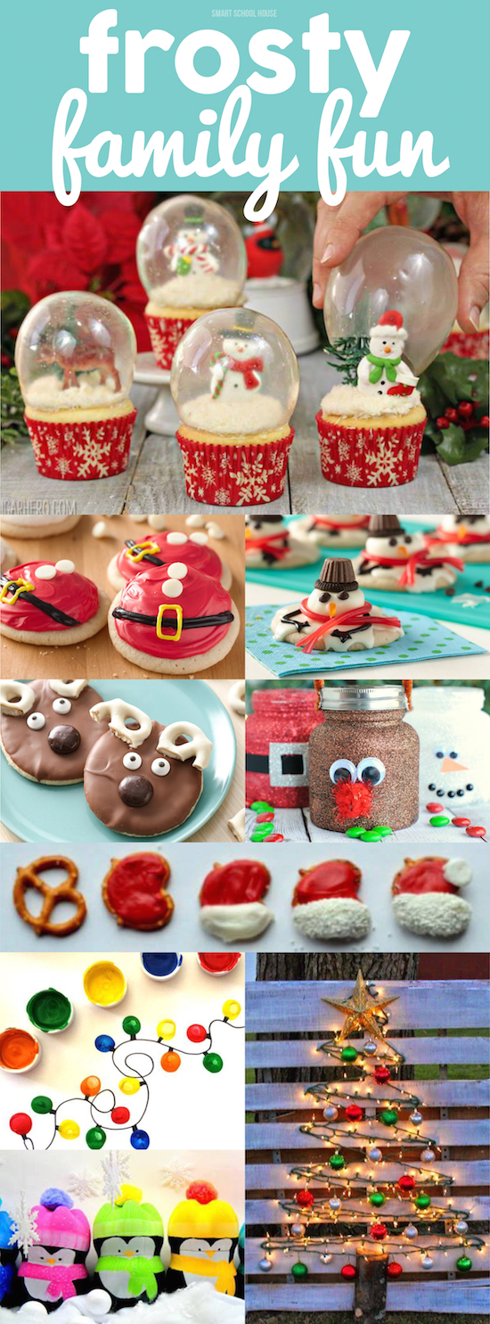 Frosty Fun Ideas for the whole Family!