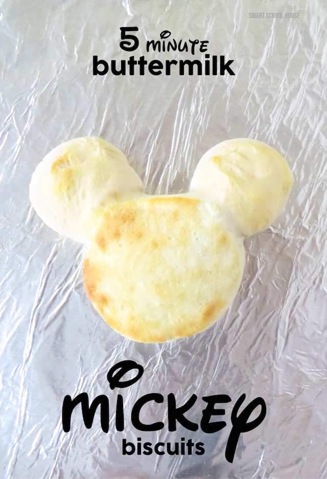 Mickey Biscuits - these Disney biscuits were so easy to make. I can't believe I didn't think of this before!