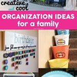 Organization Ideas for a Family