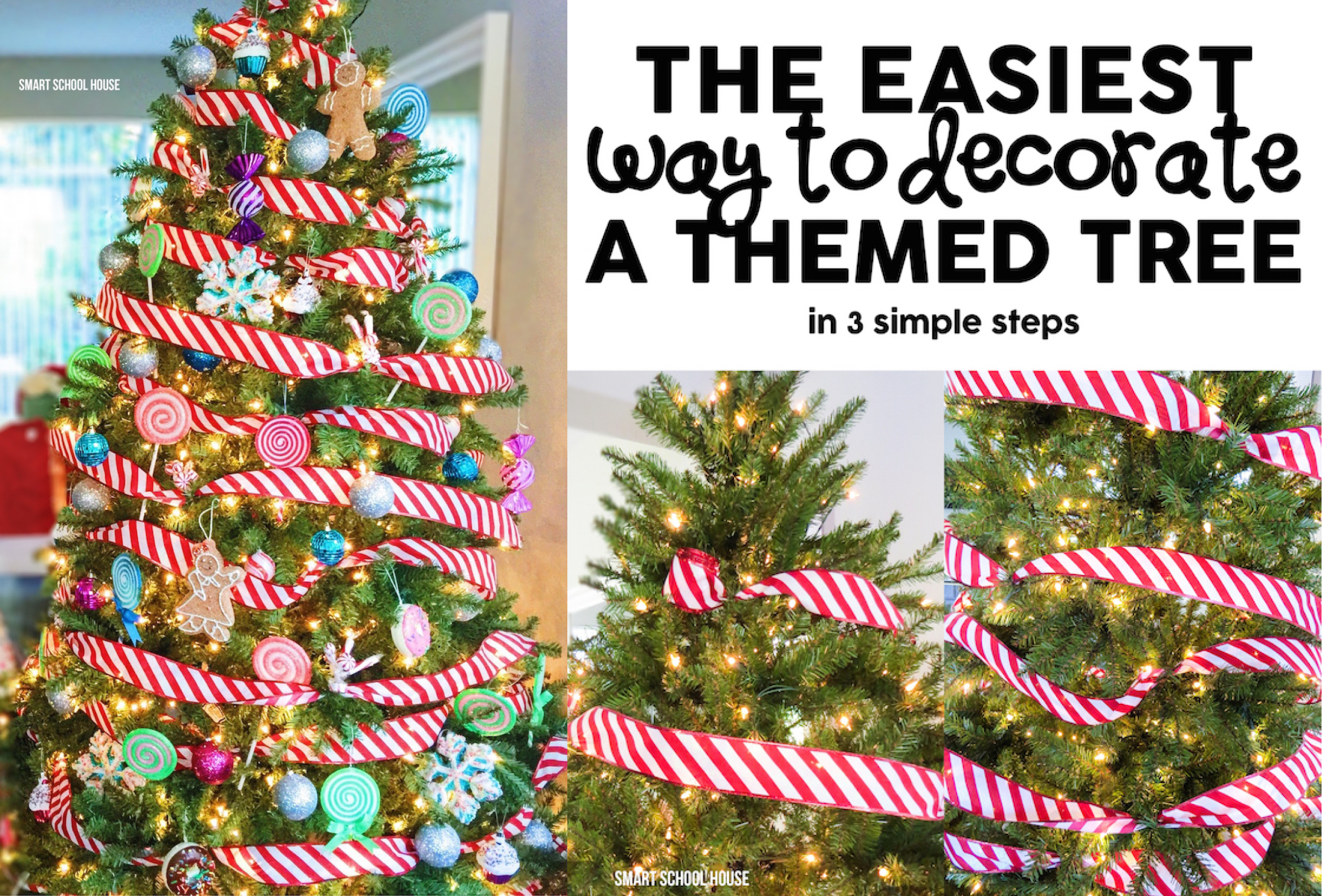 the easiest way to decorate a christmas tree - Steps To Decorating A Christmas Tree