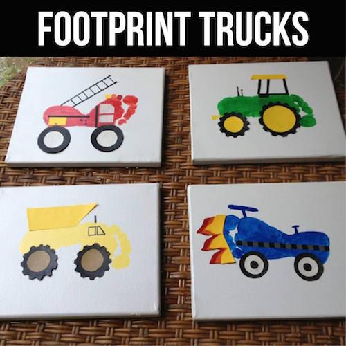 Footprint Trucks -I just love that firetruck!