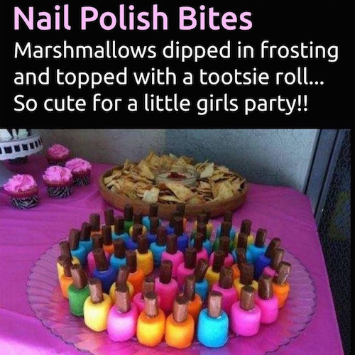 Nail Polish Cake Ideas: Cake Ideas And Party Themes