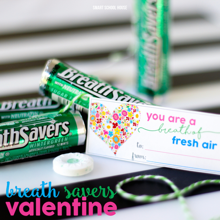 Breath Savers Valentine square