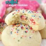 Circus Animal Stuffed Sugar Cookies