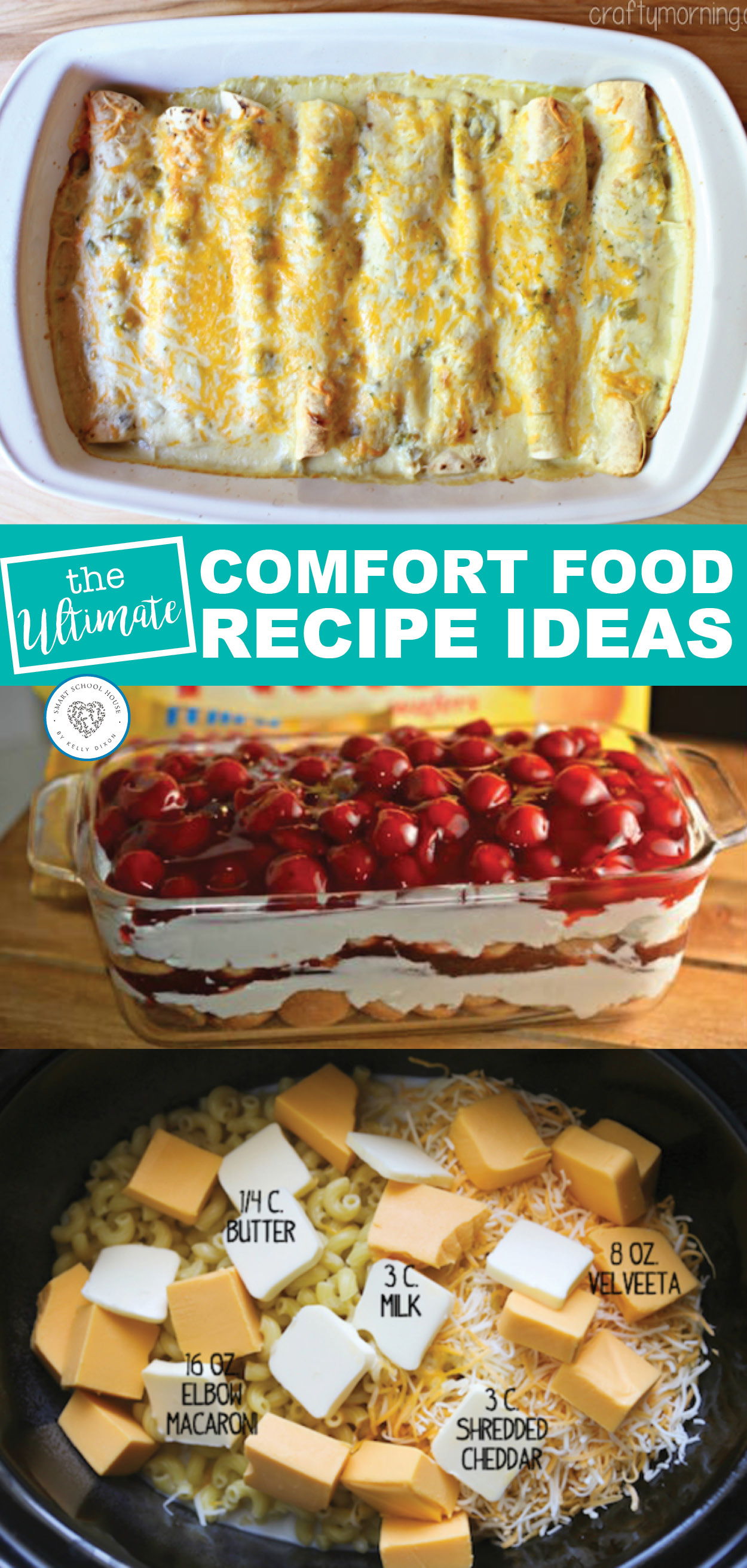 Hard Day Comfort Food - save these recipes for when you have a bad day! Everybody needs comfort food now and again.