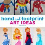 Hand and Footprint Art Ideas