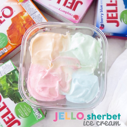 Jello Ice Cream. OMG!