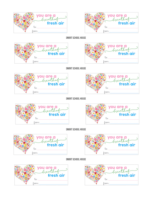 Breath Savers Valentine Printable