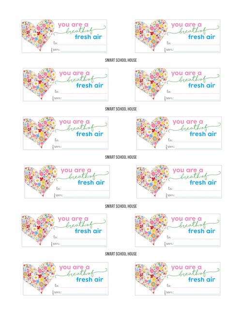 Breath Savers Valentine Printable
