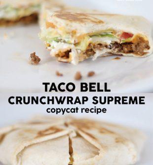 Taco Bell Crunchwrap Supreme
