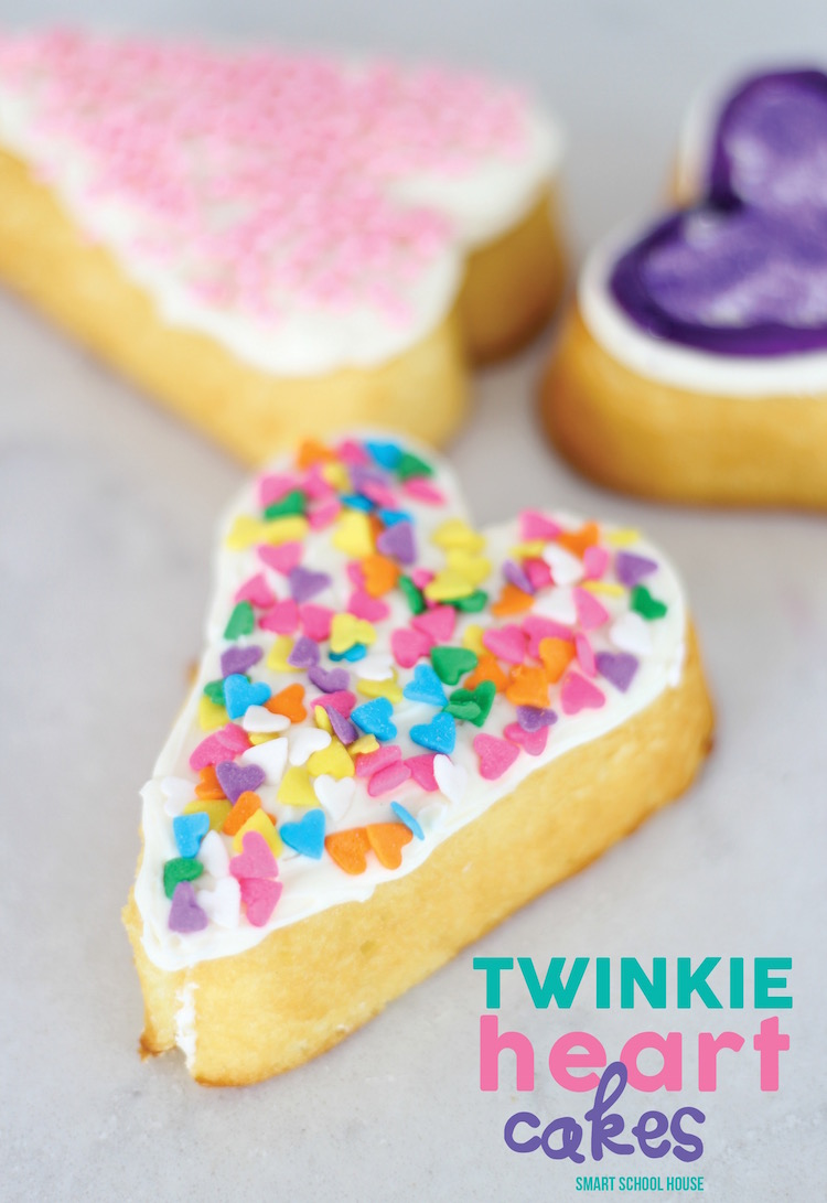 Twinkie Heart Cakes Page 2 Of 2 Smart School House