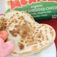 Heart Quesadillas