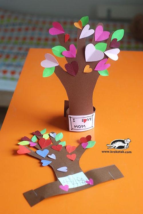 Подарок своими руками из бумаги для детей
