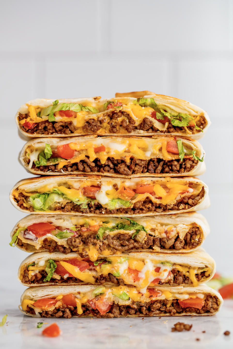Crunchwrap Supreme - Trust us, this is every bit as good as the real thing!