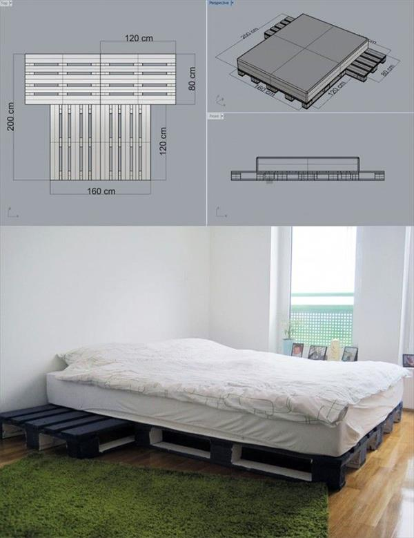 How To Build A Wood Pallet Bed